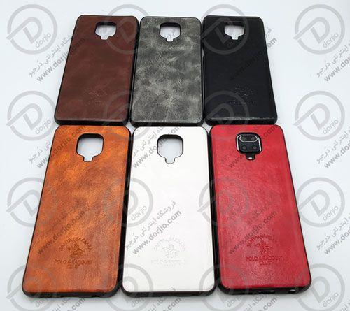 گارد چرمی شیائومی Redmi Note 9s مارک Santa Barbara قاب چرمی شیائومی ردمی نوت 9s مارک Santa Barbara گارد چرمی شیائومی Redmi Note Leather Case Xiaomi Accessories