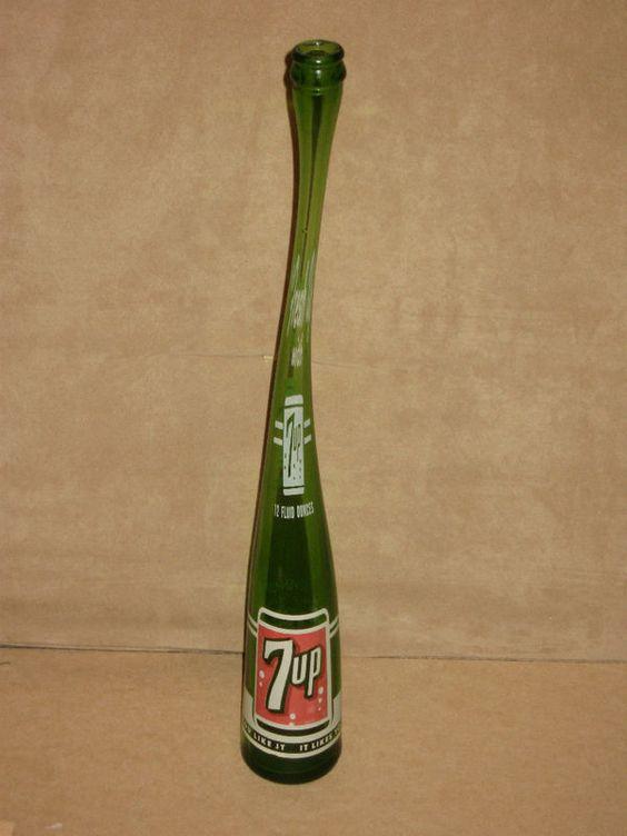 stretched shaped bottles