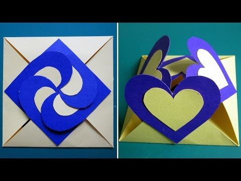 Origami Envelope Notebook Paper