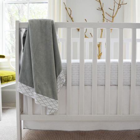 Owen & Ozzie 2-Piece Crib Bedding Set, Grey - Walmart.com