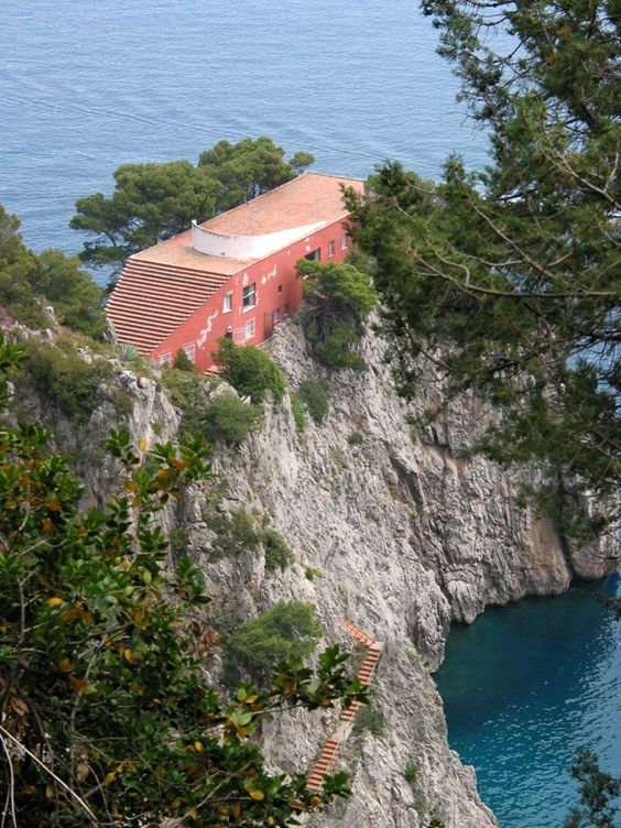 Villa Malaparte à Capri en Italie - Curzio Malaparte - Arnaud 25, photographer