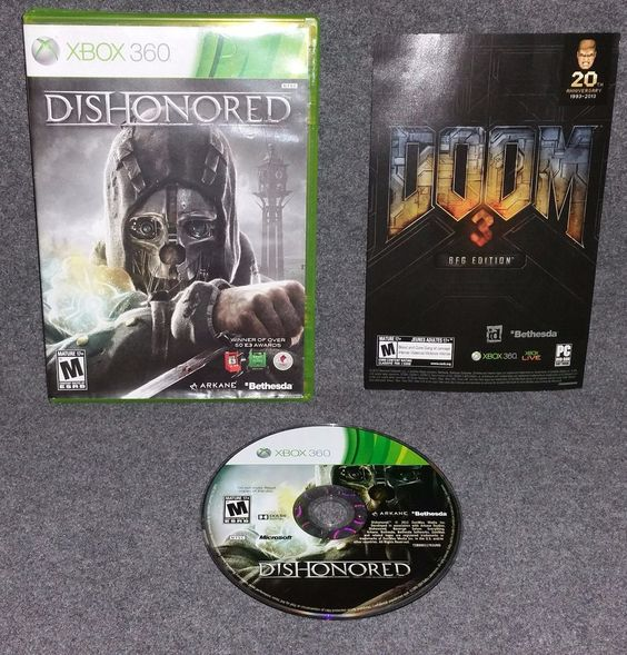 Dishonored (Microsoft Xbox 360, 2012) stealth action adventure video game excite
