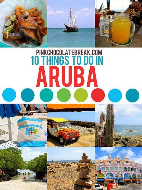10 Things To Do In Aruba Aruba Onehappyisland