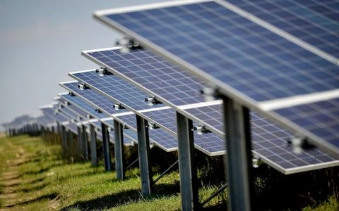 Solar Panel Installations Will Reach A Record High This Year As More Countries Adopt The Technology And Costs Conti Solar Panels Solar Energy Panels Solar Farm