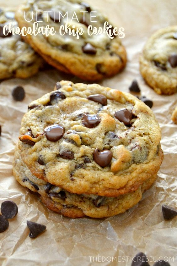 desserts chocolate chip cookie dessert food recipe for chocolate chip ...