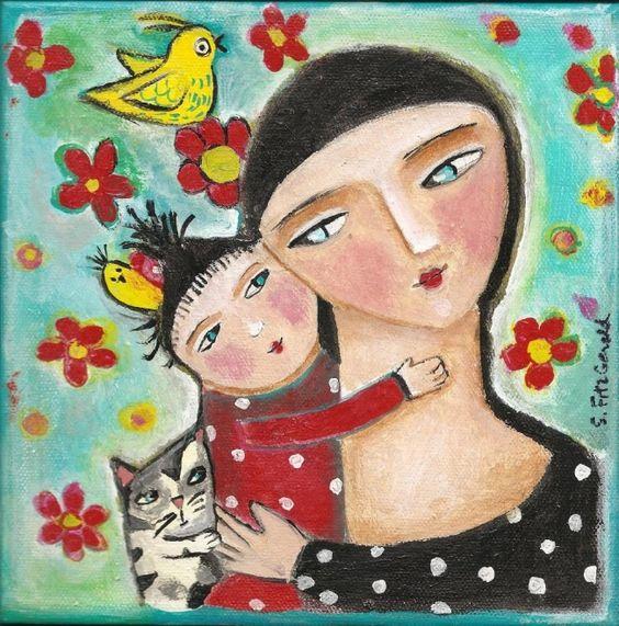 May paintings - Sandi FitzGerald