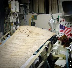 The Constitution on life support