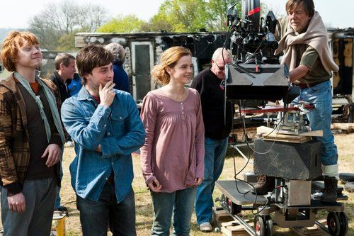 Behind the scenes....: Scenes Stuff, Scenes Picture, Emma Watson, Scenes Shots, Harry Hermione, Harry Potter Costumes, Deathly Hallows, Harry Potter Movies