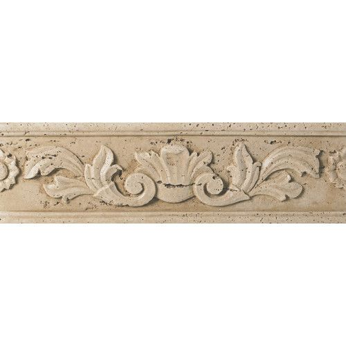 "Found it at Wayfair - Fashion Accents 13"" x 4"" Romanesque Decorative Listello in…"