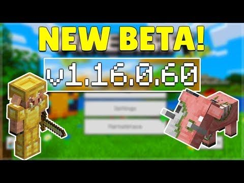 We Present To You The New Beta Version Of Minecraft Bedrock Edition 1 16 0 60 The Developers Of The Mojang Studio Minecraft Pocket Edition Pocket Edition Beta