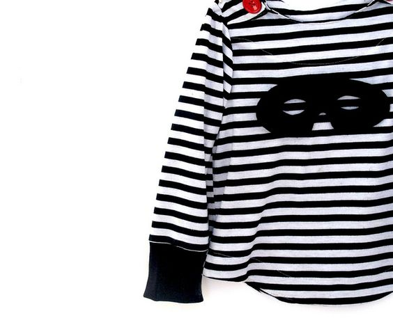 Oliver + S sailboat top with removable mask