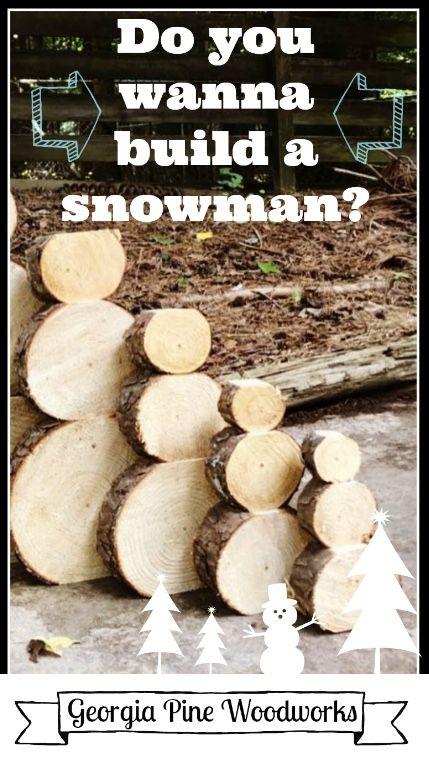 Wood Slice Snowman Set Christmas Decor Etsy In 2020 Christmas
