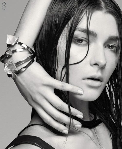 Trunfio is a jewelry collection by Australian actress and model, Nicole Trunfio. The main piece of the collection being a bracelet with interchangeable parts.