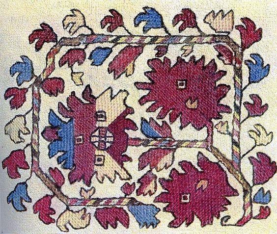 Българска бродерия и фолклор.  Тук има качествено различен канон - изглежда, че никъде не съществуват, освен в България (Самоковски регион) 5