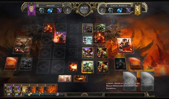 duel of champion ui - Google Search
