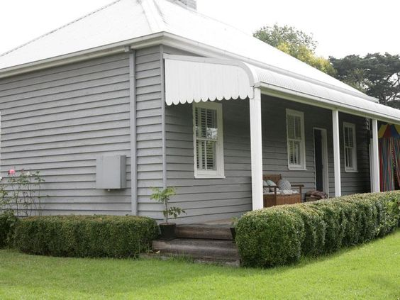 Love the weatherboard exterior country pinterest - House colours exterior australia ...