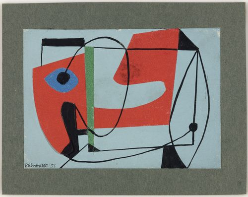 ad reinhardt - study for a painting - 1938