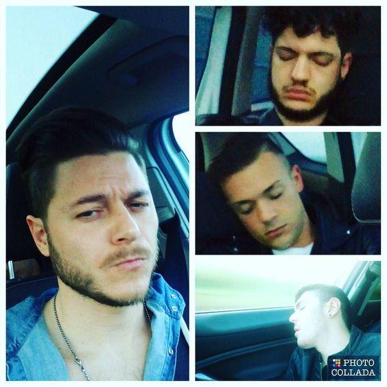 #Leonelli  #tassista #autostrada #Rimini #Bologna  #friends #friendship  #sleep by simonleobo