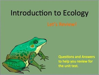 ecology essay questions and answers Essay questions possible essay topics for student assessment are given below  chapter 1: cells and tissues why are viruses not regarded as being alive.