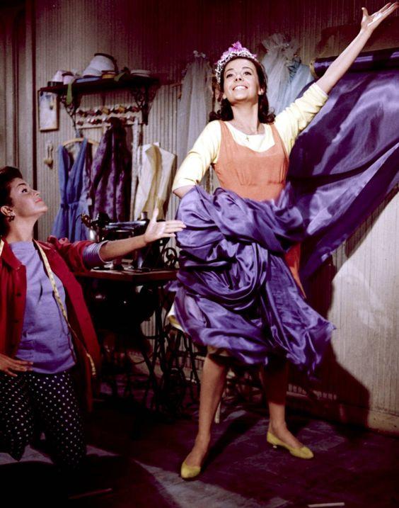 """I feel pretty, oh so pretty!""..Natalie Wood...West Side Story"