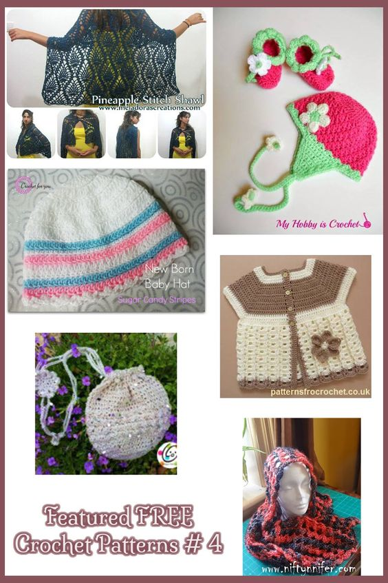 Featured FREE Crochet Patterns #4 | Crochet!!! | Pinterest | Patrón ...