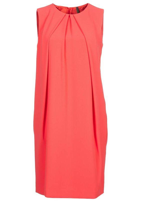 Cocktailkleid / festliches Kleid - orange-red