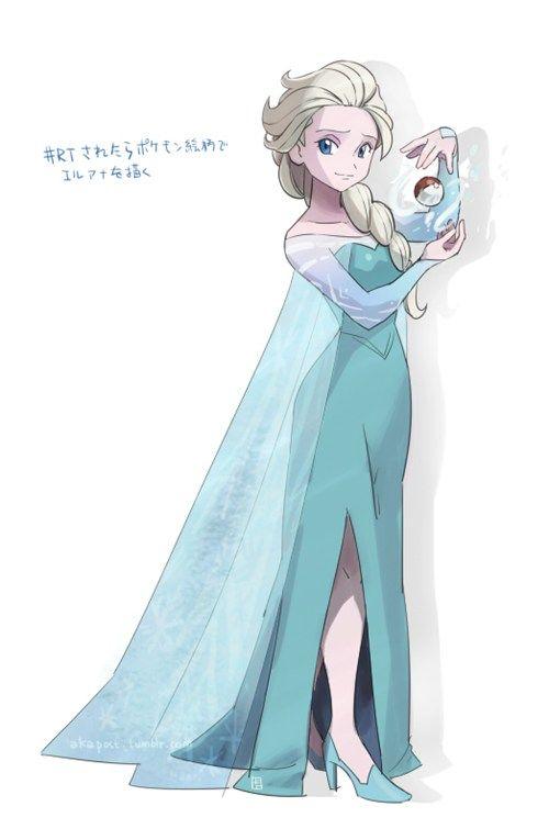 Elsa Would Like to Battle