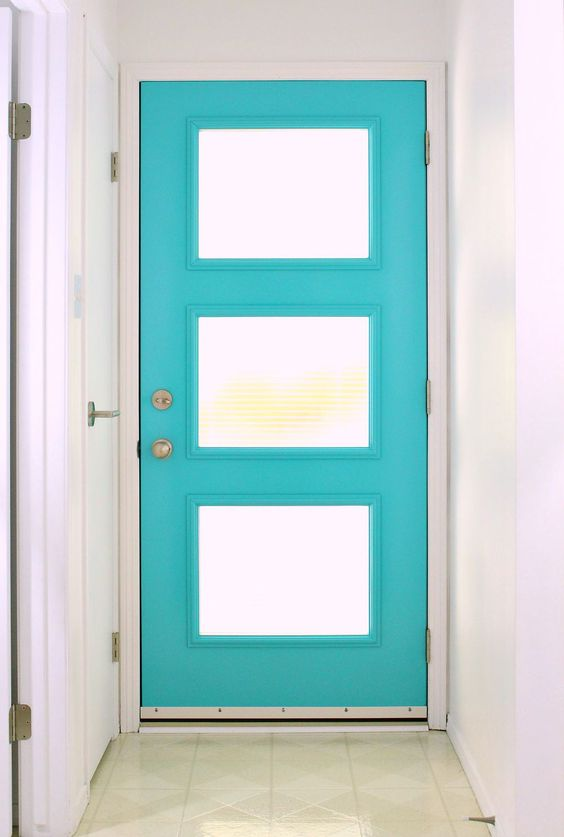 Front doors doors and modern on pinterest for Front doors that let in light