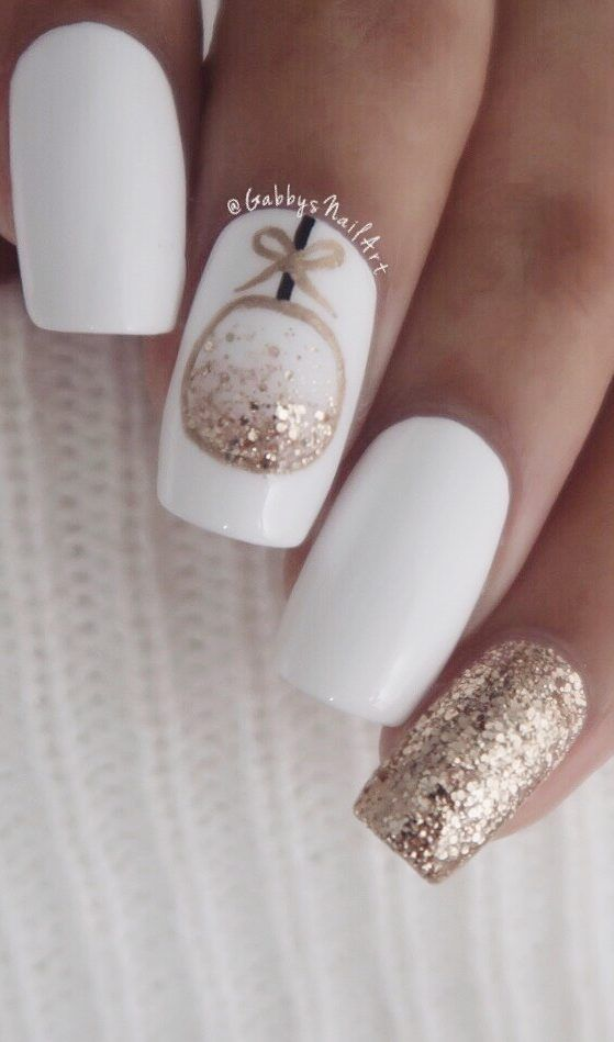 25 Bright and Awesome CHRISTMAS NAILS Art Design and Polish