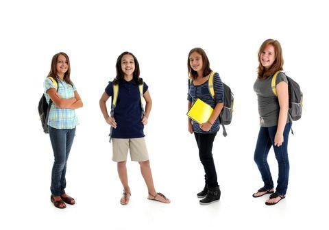 E' bene ricordare che la scuola è un luogo dove si apprende e non una passerella per mostrare. L'abbigliamento deve essere rispettoso del benessere fisico