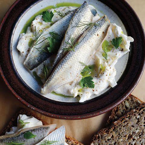 Herring With Sour Cream Sauce Herring Recipes Pickled Fish Recipe Fish Recipes