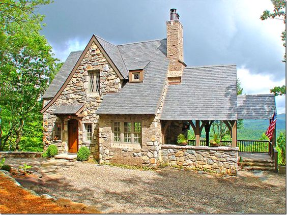 Custom home designs cottages and custom homes on pinterest for Custom cottage homes