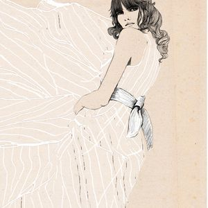 fashion illustration - sandra suy