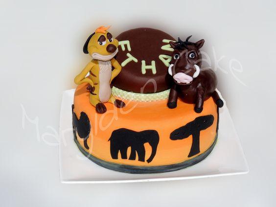 Pumba Cake: Pin Timon Pumba Cake Ideas And Designs
