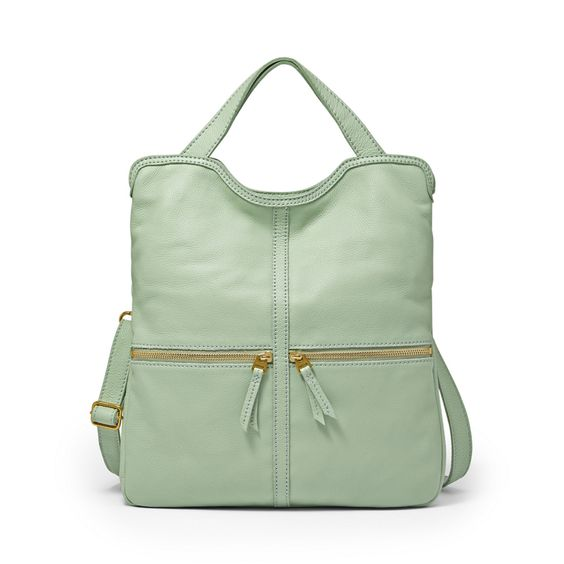Fossil — Erin Tote in Pastel Green