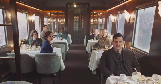 "It's all mustaches and mayhem in the first trailer for ""Murder on the Orient Express"" - HelloGiggles"