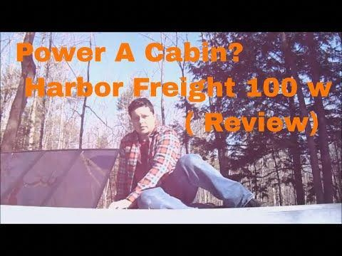 205 Harbor Freight 100w Solar Kit Review Cabin In The Woods Youtube Solarpanels Solarenergy Solarpower Sol In 2020 Solar Kit Solar Power House Best Solar Panels