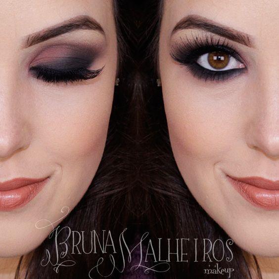 Maquiagem Esfumada – Smokey Eyes por Bruna Malheiros: