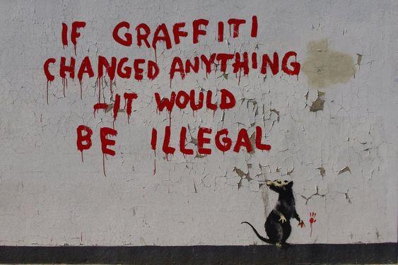 Les rats de Banksy - Graffmag