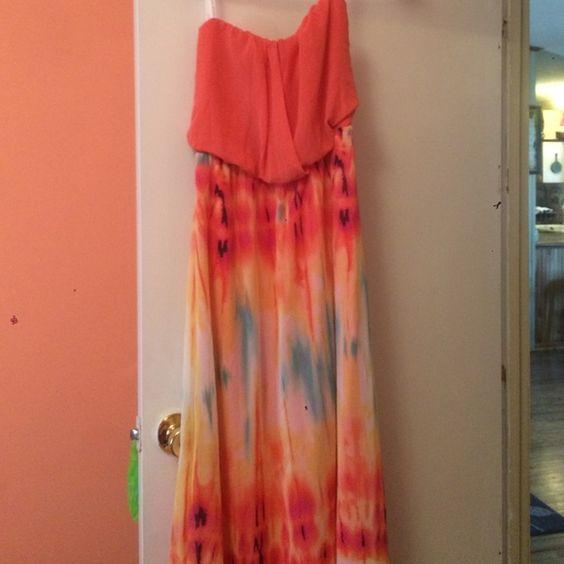 maxi dress worn once Dresses Maxi