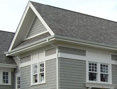 Victorian Grey Siding Siding Cleaning And