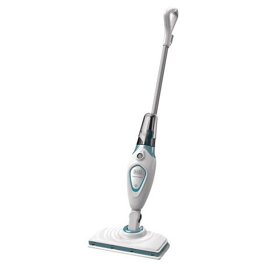 The Black Decker Bdh1715sm Steam Mop Is A Must Have For All Homes And Makes Cleaning Up After Kids Or Pets Effortles With Images Steam Mop Black Decker Steam Mop Cleaner