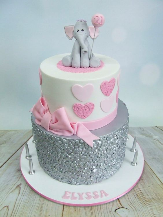 Cute little girls cake