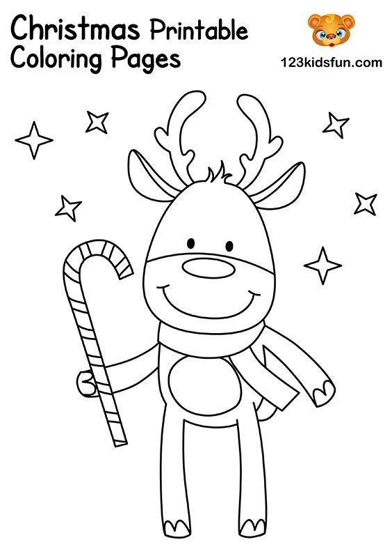 Free Christmas Printable 123 Kids Fun Apps Printable Christmas Coloring Pages Kids Christmas Coloring Pages Christmas Coloring Printables