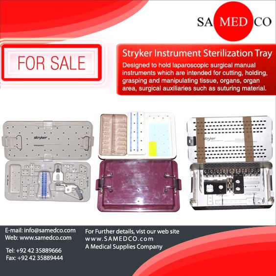 Designed to hold laparoscopic surgical manual instruments which are intended for cutting, holding, grasping and manipulating tissue, organs, organ area, surgical auxiliaries such as suturing material. The 45cm Lap tray can hold up to 11 instruments in the top tier and a combination of instruments in the bottom tier provided that the total weight of the loaded tray does not exceed 6.53 kg.
