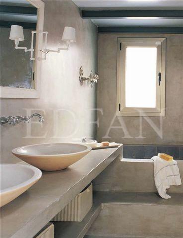 Microcemento by edfan edfan cement design pinterest - Banos en microcemento ...