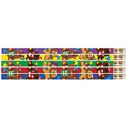 Christmas Critters Bear Christmas Pencils http://www.pencilthings.com/product-p/mus-d2480.htm