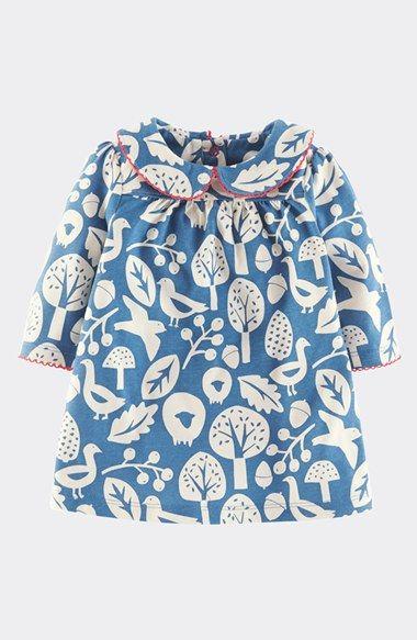Infant girl 39 s mini boden 39 pretty 39 peter pan collar dress for Mini boden winter 2016