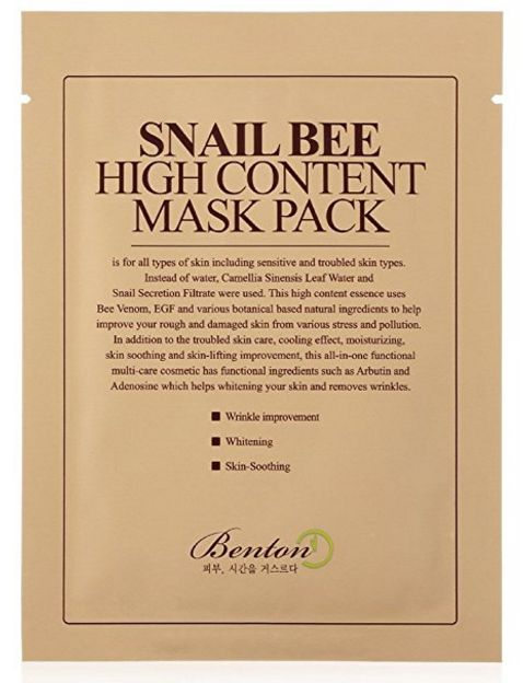 Snail Bee Mask