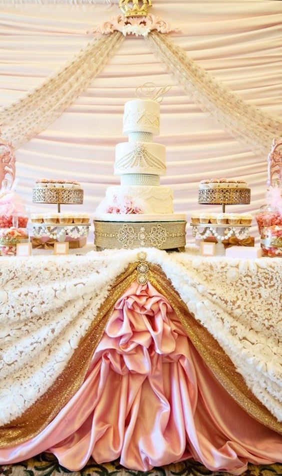 Decoracion Bautizo Ni?a ~ Princess Baby Shower via Kara s Party Ideas! Full of party ideas